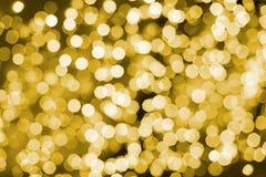 Abstrakcjonistyczni tła bokeh światła Fotografia Royalty Free
