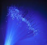 abstrakcjonistyczni tła komunikaci włókna światłowodowe Zdjęcie Royalty Free