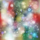 abstrakcjonistyczni tło światła Obrazy Royalty Free