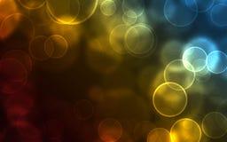 Abstrakcjonistyczni tło bąble Zdjęcie Royalty Free