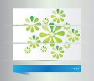 abstrakcjonistyczni tło kwiaty Zdjęcie Stock