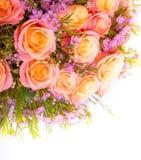 abstrakcjonistyczni tło kwiaty Zakończenie Obraz Royalty Free