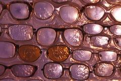 Abstrakcjonistyczni tło szkła dla oczu Fotografia Royalty Free