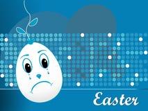 abstrakcjonistyczni tła Easter jajka Obrazy Royalty Free
