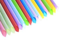 Abstrakcjonistyczni tła koloru tubepaper papierowa tubka superimposed Obrazy Royalty Free