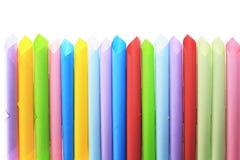 Abstrakcjonistyczni tła koloru tubepaper papierowa tubka superimposed Zdjęcia Royalty Free