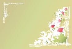 abstrakcjonistyczni tło kwiaty royalty ilustracja