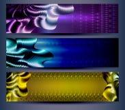 abstrakcjonistyczni tło technologii szablony Zdjęcie Royalty Free