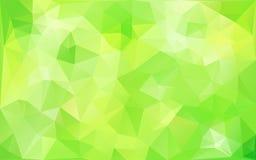 abstrakcjonistyczni tła zieleni brzmienia Obrazy Royalty Free
