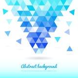 Abstrakcjonistyczni trójboków kształty Zdjęcie Royalty Free