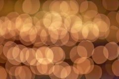 Abstrakcjonistyczni wakacyjni światła Zdjęcie Royalty Free
