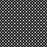 Abstrakcjonistyczni wektorowi czarny i biały częstotliwi wzory, Fotografia Royalty Free