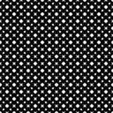 Abstrakcjonistyczni wektorowi czarny i biały częstotliwi wzory, Fotografia Stock