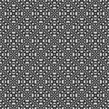 Abstrakcjonistyczni wektorowi czarny i biały częstotliwi wzory, Zdjęcia Royalty Free