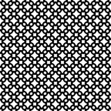 Abstrakcjonistyczni wektorowi czarny i biały częstotliwi wzory, Obrazy Stock
