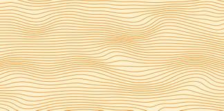 Abstrakcjonistyczni wektorowi isolines w brązów kolorach obraz royalty free