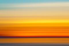 Abstrakcjonistyczni zmierzchów kolory, Zdjęcia Stock