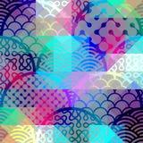 Abstrakcjonistyczny łuku wzór Zdjęcia Stock