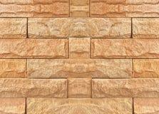 Abstrakcjonistyczny ściana z cegieł tekstury tło Obrazy Royalty Free