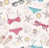 abstrakcjonistyczny śliczny deseniowy lato Zdjęcie Royalty Free