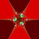 Abstrakcjonistyczny świąteczny tło Obrazy Stock