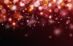 Abstrakcjonistyczny świąteczny tło Zdjęcia Royalty Free