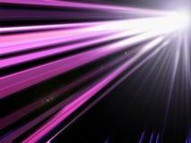 abstrakcjonistyczny światło - purpura Zdjęcie Stock