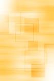 Abstrakcjonistyczny żółtej linii i kwadrata tło royalty ilustracja