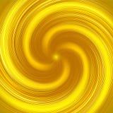 Abstrakcjonistyczny żółty skręta tło royalty ilustracja
