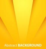 Abstrakcjonistyczny żółty tło Obraz Royalty Free