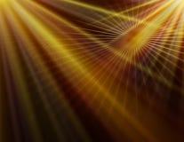 Abstrakcjonistyczny żółty technologii tło Obrazy Royalty Free