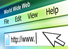 abstrakcjonistyczny adresu internetów ekran ilustracji