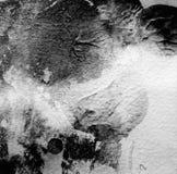 Abstrakcjonistyczny akrylowy i akwarela malujący tło Zdjęcie Stock