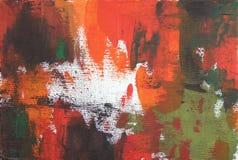 Abstrakcjonistyczny akrylowy i nafciany tło Zdjęcia Stock