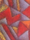 Abstrakcjonistyczny akrylowy i obraz olejny tło Fotografia Stock