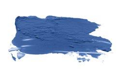 Abstrakcjonistyczny akrylowy koloru muśnięcia uderzenie odosobniony obraz stock