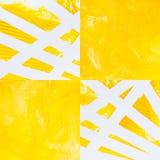 Abstrakcjonistyczny akrylowy na papierowym tle Zdjęcie Stock