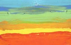 Abstrakcjonistyczny akrylowy szczotkarski uderzenie malujący tło fotografia royalty free