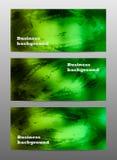 Abstrakcjonistyczny akwarela biznesu sztandar Zdjęcie Stock