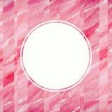 Abstrakcjonistyczny akwarela projekta element Tekst rama Zdjęcie Royalty Free