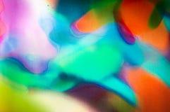 Abstrakcjonistyczny akwareli tło zdjęcie royalty free