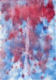 Abstrakcjonistyczny akwareli tło, wspominający krew w Obrazy Royalty Free