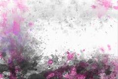 Abstrakcjonistyczny akwareli tło z kopii przestrzenią Obraz Royalty Free