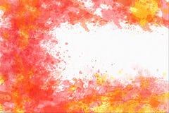 Abstrakcjonistyczny akwareli tło z kopii przestrzenią Zdjęcia Stock