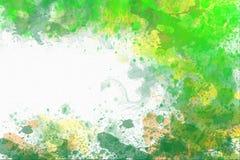 Abstrakcjonistyczny akwareli tło z kopii przestrzenią Zdjęcie Royalty Free