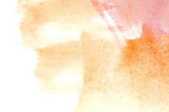 Abstrakcjonistyczny akwareli tło Fotografia Stock