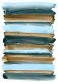 Abstrakcjonistyczny akwareli tło Obrazy Royalty Free