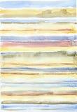 Abstrakcjonistyczny akwareli tło Zdjęcia Stock