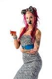 abstrakcjonistyczny alkoholizm Zdjęcie Royalty Free