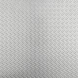 Abstrakcjonistyczny aluminiowy checker talerza tło Fotografia Stock